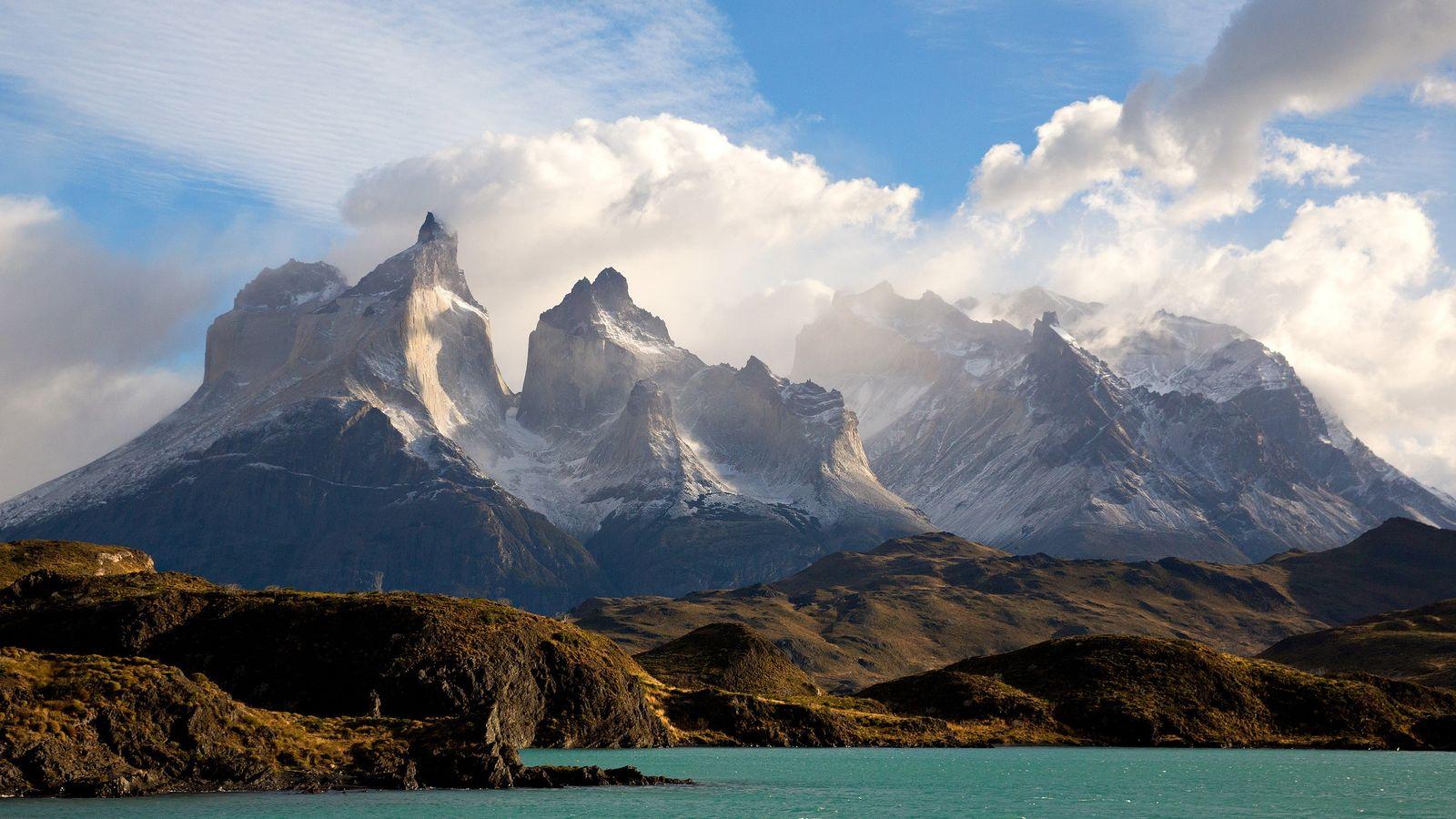 L'un des premiers visiteurs du parc national Torres del Paine au Chili l'a défini comme « ...