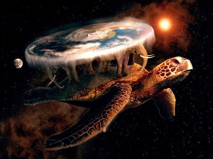 Le disque monde de Terry Pratchett