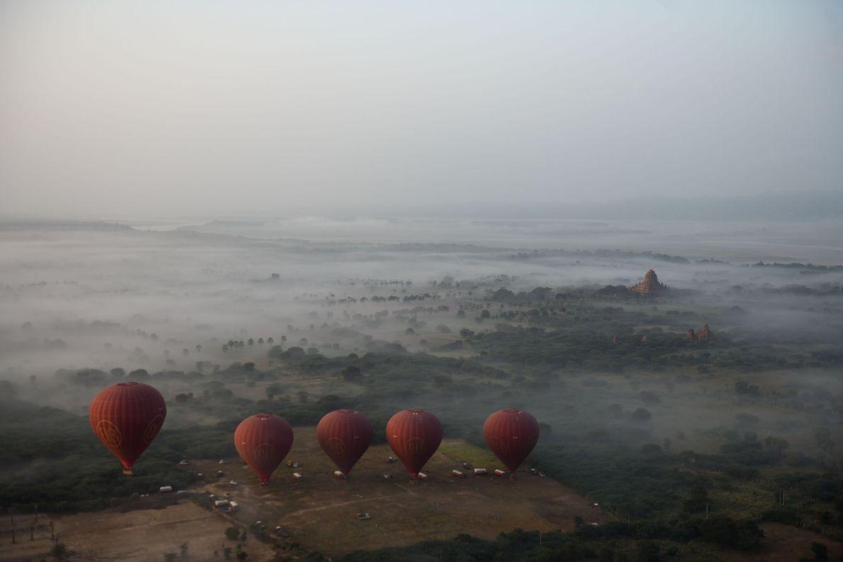 Étape 6 : la Birmanie. Pour appréhender les quelque 3 000 temples de Bagan, capitale du ...