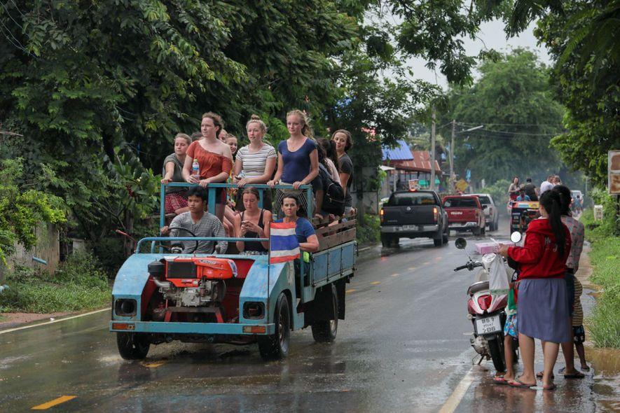Connu sous le nom de « village des éléphants », Ban Ta Klang attire depuis peu ...