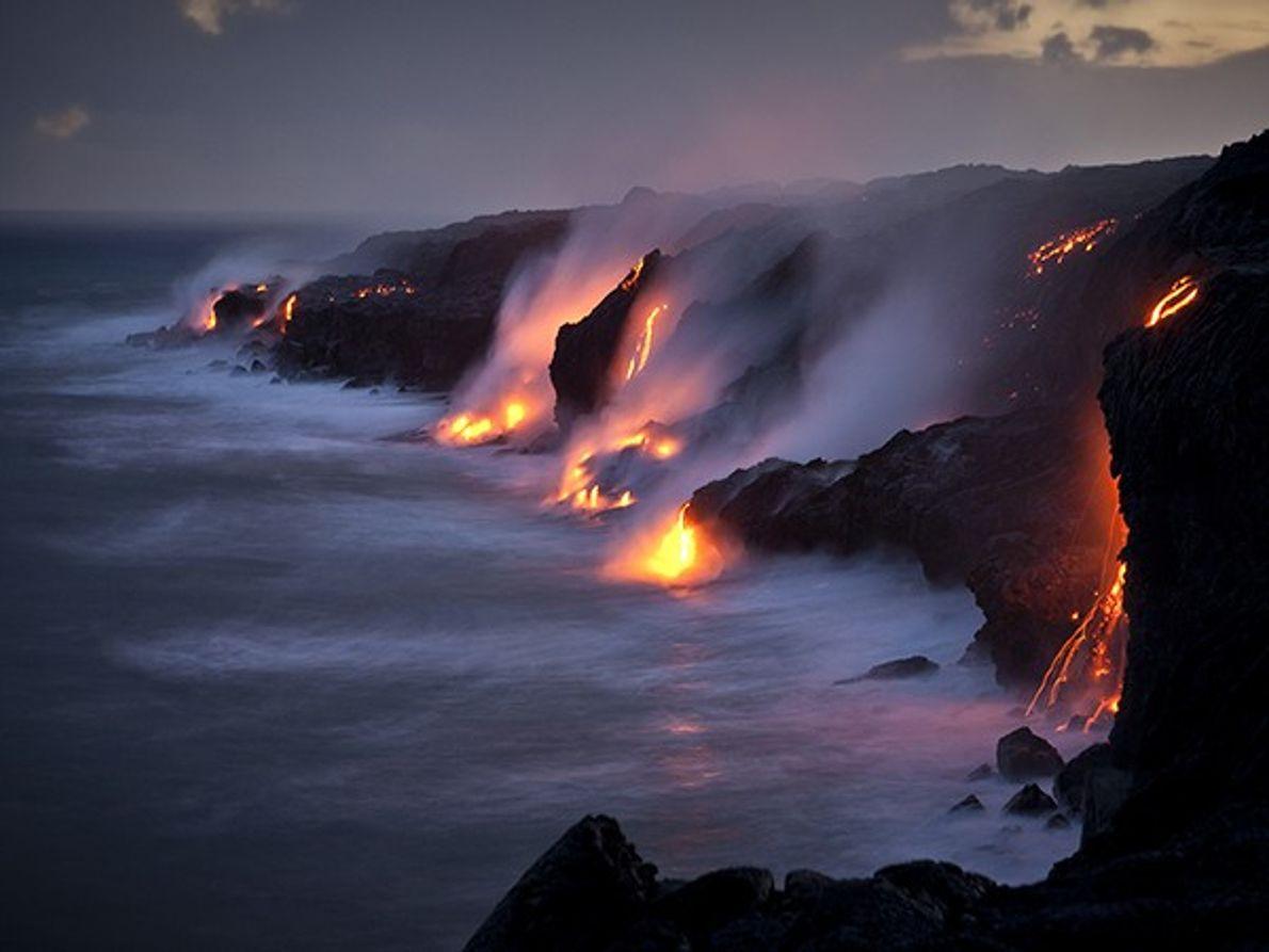 Parc national des volcans d'Hawaï, Île d'Hawaï