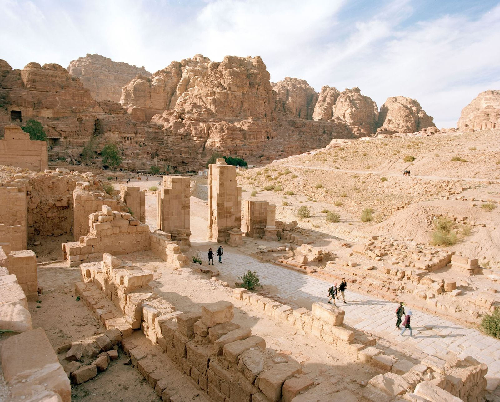 En Jordanie, ce sentier mythique relie Pétra à la mer Rouge