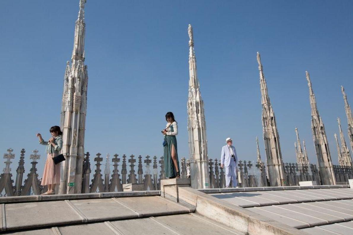 Le Duomo, ou cathédrale, est l'un des monuments les plus emblématiques de la ville italienne de ...