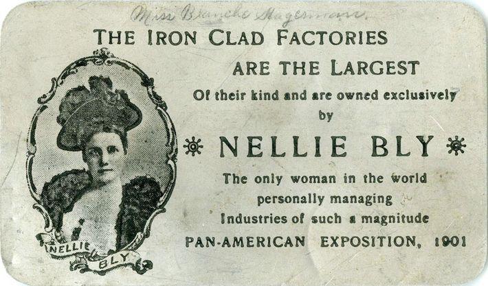 Industrielle révolutionnaire, Nellie Bly est devenue l'unique propriétaire de l'usine d'émail à la mort de son ...