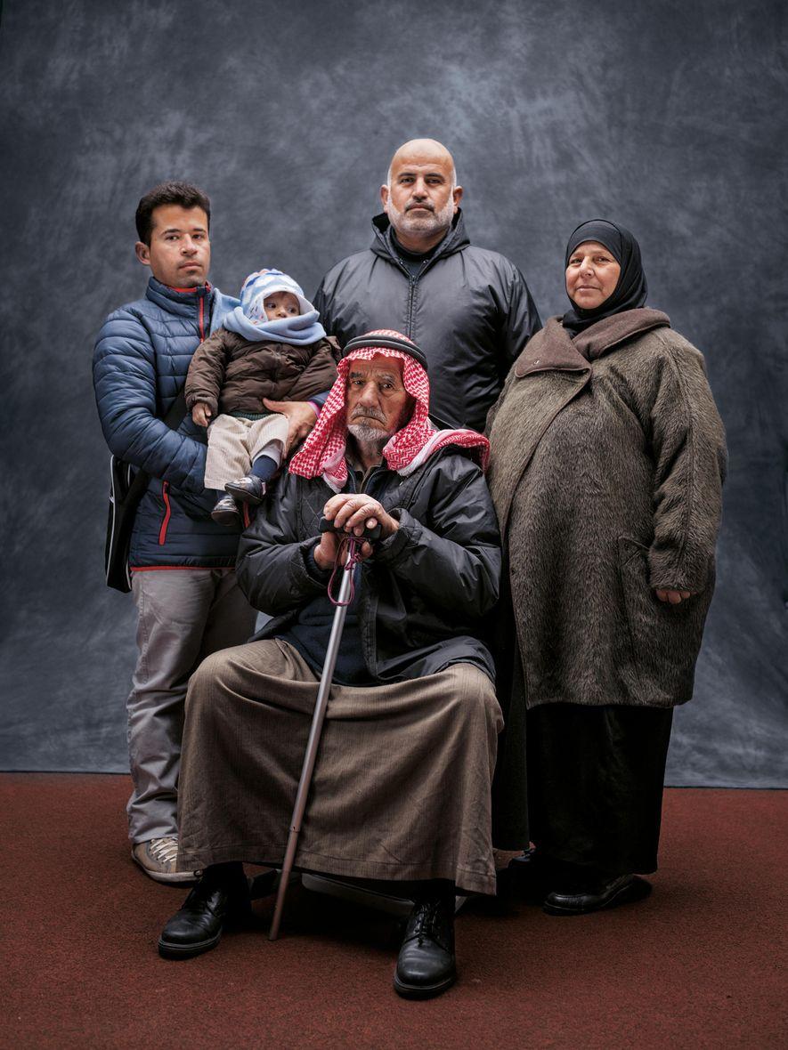 « Nous vivons bien ici, et nous avons été bien accueillis », assure Abed Mohammed Al ...