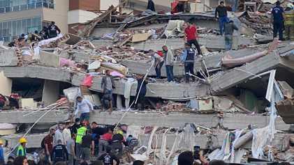 La Grèce et la Turquie frappées par un séisme de magnitude 7