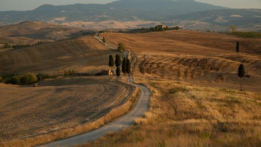 Road trip à travers la sublime campagne toscane