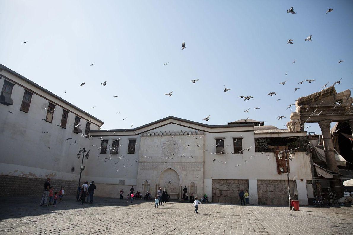 L'ANCIENNE VILLE DE DAMAS, SYRIE Au carrefour entre l'Afrique et l'Asie, la ville de Damas a été ...