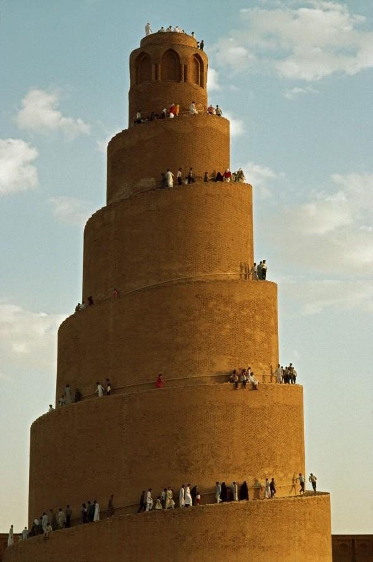 LA VILLE ARCHÉOLOGIQUE DE SAMARRA, IRAK Les mosqués, minarets et palais de Samarra témoignent de l'Empire abbasside, ...
