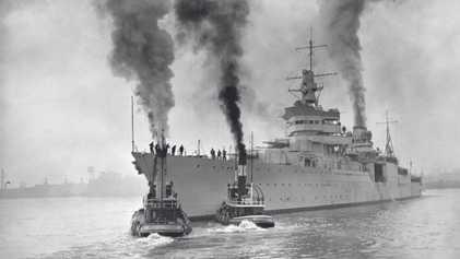 Découverte de l'épave de l'U.S.S. Indianapolis, navire de guerre de la Seconde Guerre mondiale