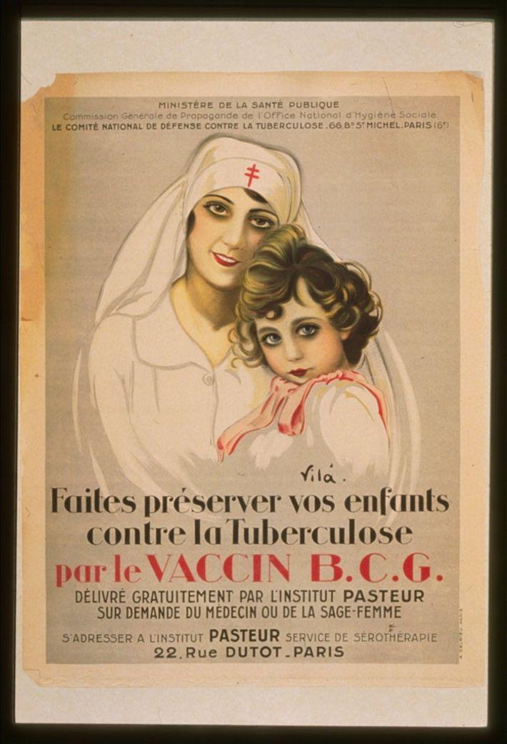 Campagne de vaccination contre la tuberculose.