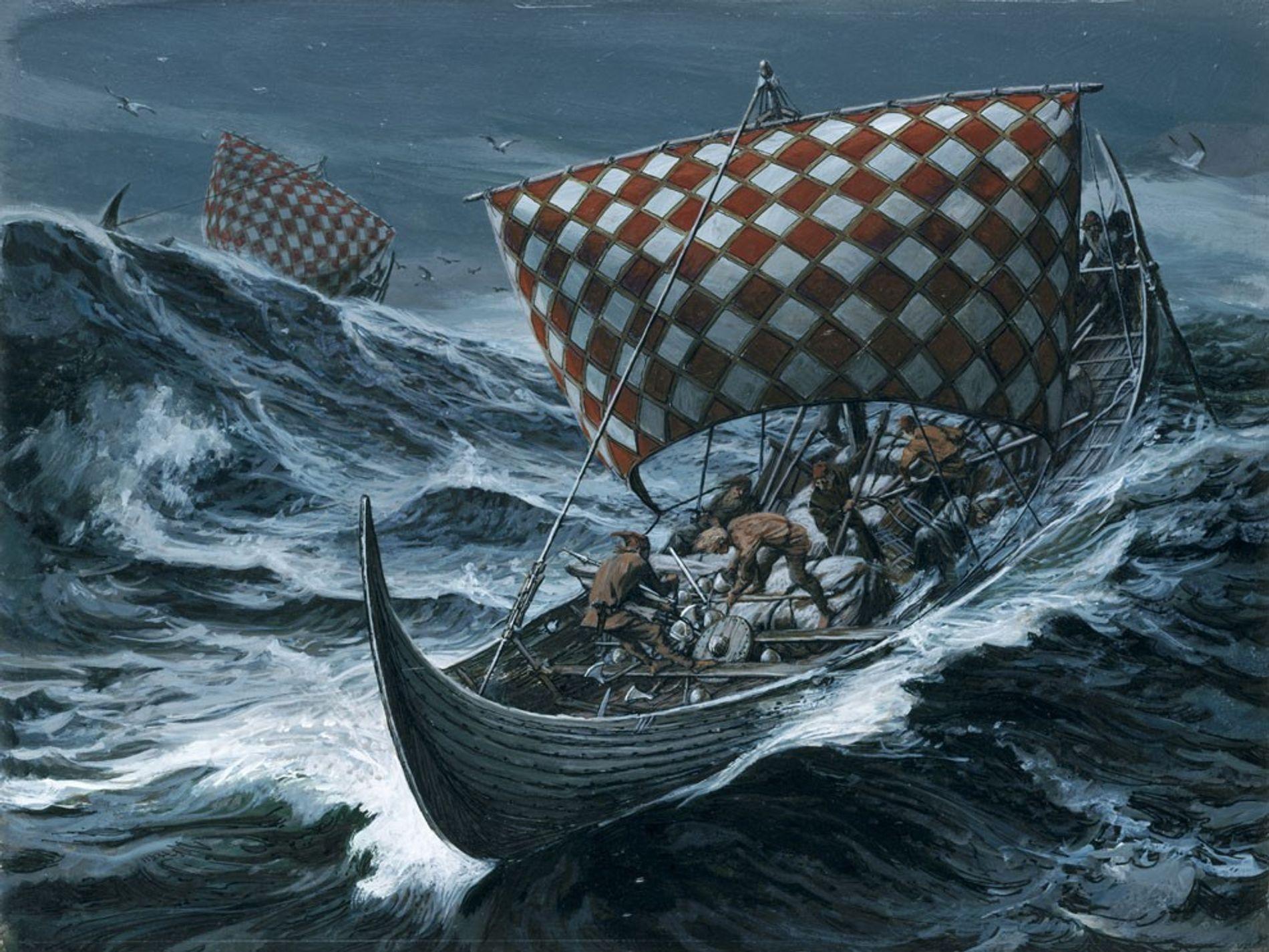 Les vikings utilisaient probablement des pierres de soleil pour s'orienter durant les fortes tempêtes.