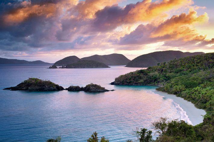 Cette réserve tropicale vierge couvre les deux tiers de Saint John et s'étend sur plus de ...