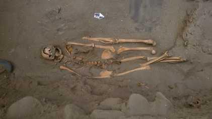 D'étranges sépultures de pêcheurs de requins ont été mises au jour au Pérou
