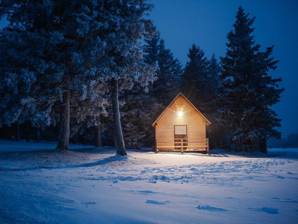 Une parfaite journée d'hiver en Slovénie