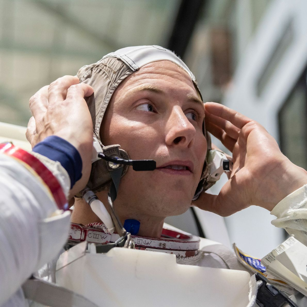 """Warren """"Woody"""" Hoburg - promotion d'astronautes 2017."""