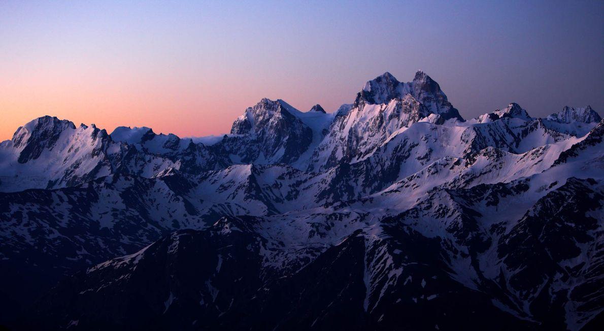 Caucasus Mountains, Russia
