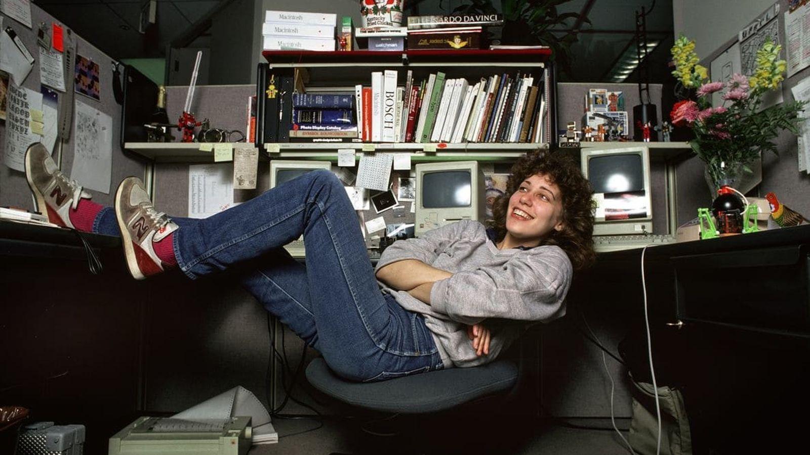 Dans les années 1980, la graphiste américaine Susan Kare a créé bon nombre des premières icônes ...