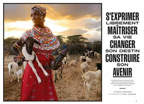 Spécial femmes : partout dans le monde les femmes se battent pour l'égalité.