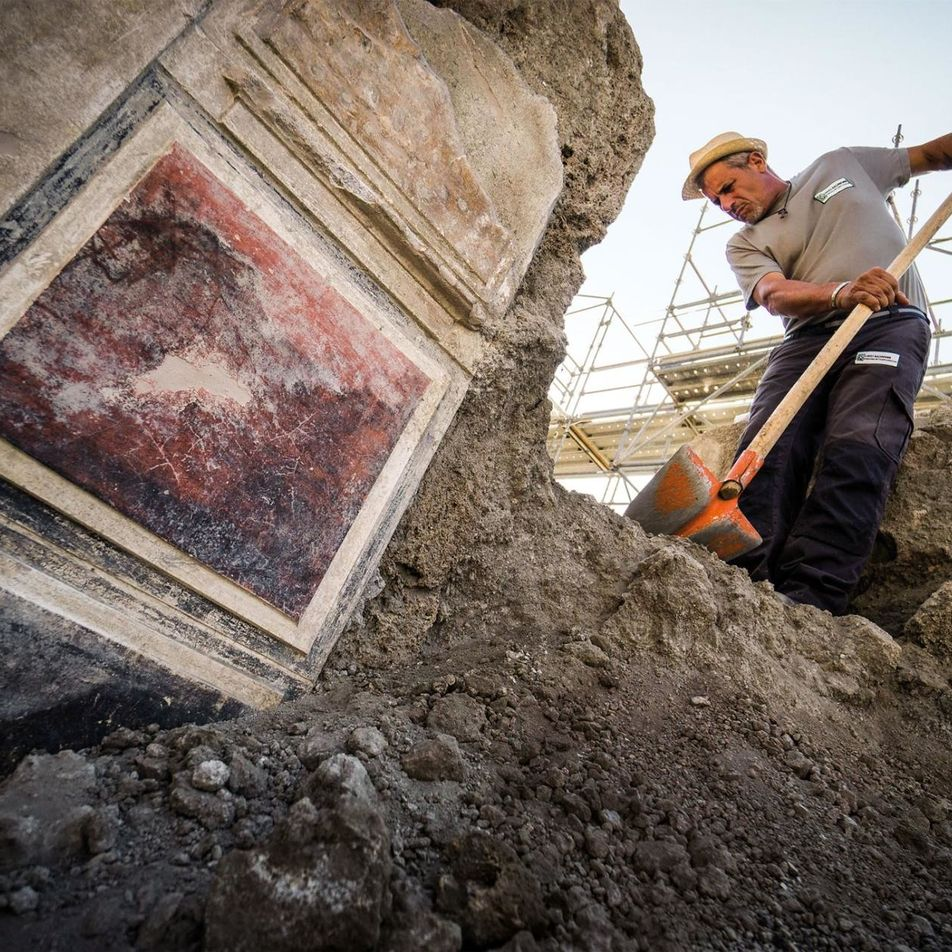 À Pompéi, de nouveaux indices ensevelis sous les cendres