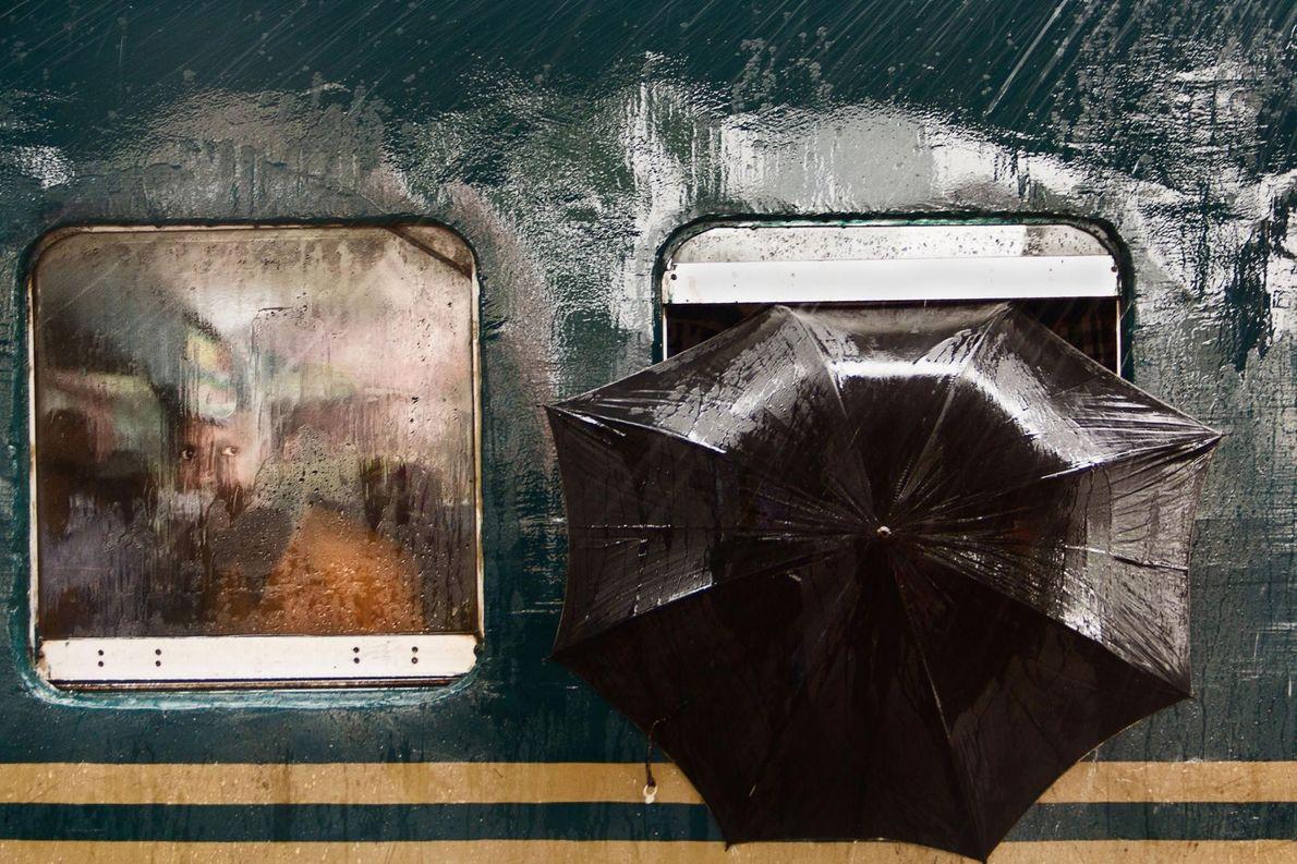 « Cette photo a été prise le 23 juillet 2016 à la gare de Tongi, à ...