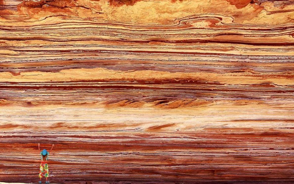 La gorge de Murchison est l'endroit idéal pour admirer une section du Tumblagooda Sandstone.