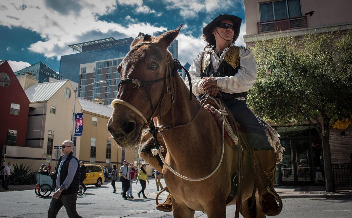 Malgré l'organisation du festival hipster South By Southwest chaque année à Austin, les traditions texanes sont ...