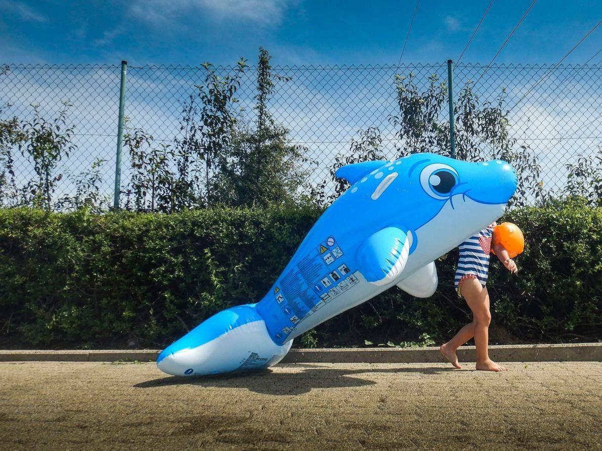 Les étés chauds ne sont pas une malédiction en Allemagne. Les piscines extérieures sont très nombreuses ...